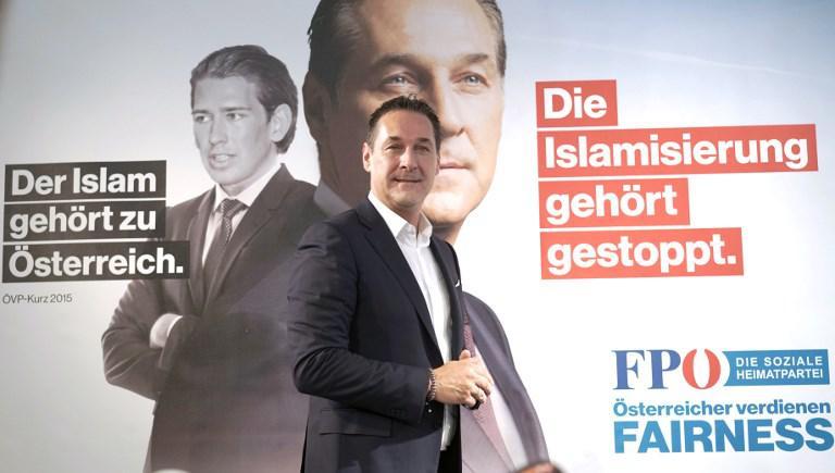 Resultado de imagen de el fascismo en europa , Austria  con Sebastian Kurz