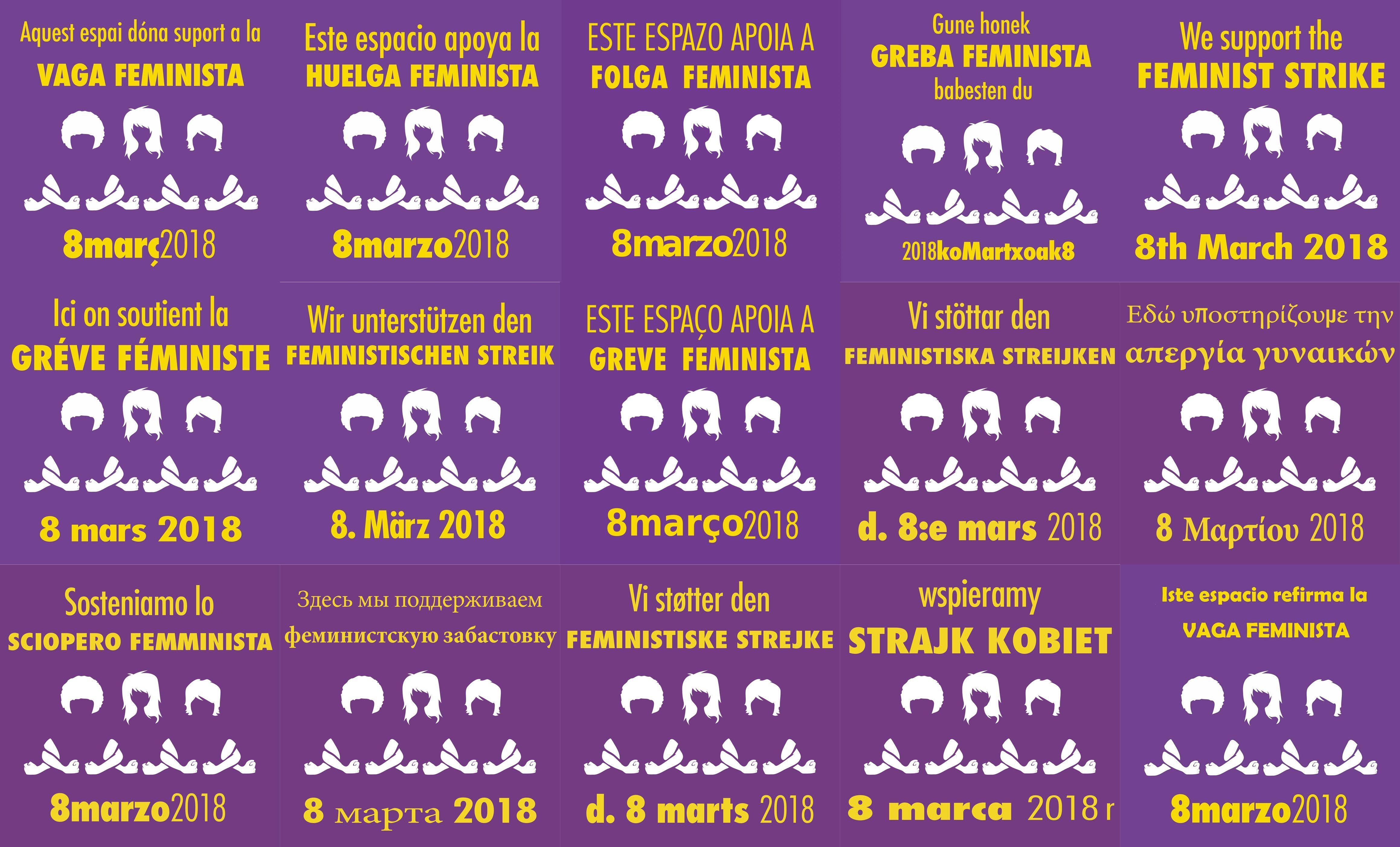 0bcf47e93425 Una huelga de mujeres que cambia la conciencia universal sobre la ...