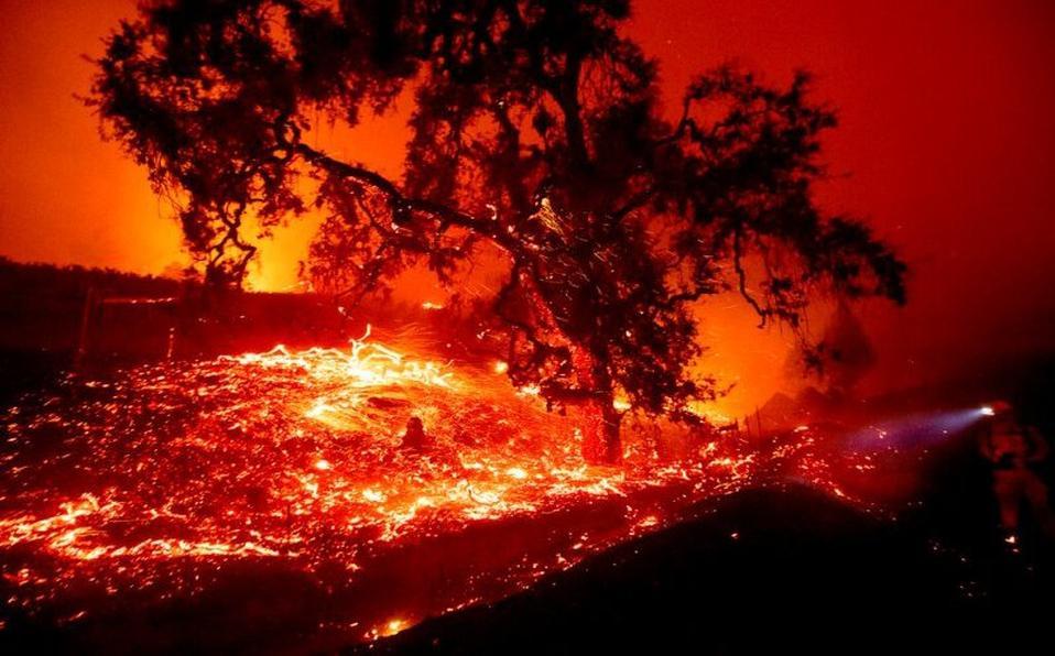 La California Del Fuego Y El Lucro Luca Celada Sin Permiso
